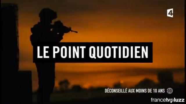Le point quotidien - France 4